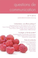 Questions de communication, n°27/2015