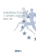 European studies in Sports History, vol. 8/2015