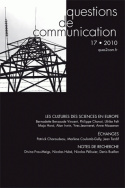 Questions de communication, n°17/2010