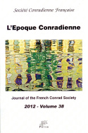 L'Époque Conradienne, volume 38/2012
