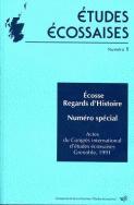 Études écossaises, n°1/1992