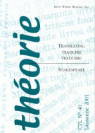 Translating, traduire, tradurre Shakespeare