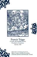 Francis Trigge, A Godly and Fruitfull Sermon Preached at Grantham, Oxford, 1595