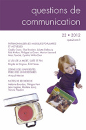 Questions de communication, n°22/2012