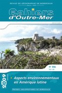 Les cahiers d'Outre-Mer,  n°246/tome LXII