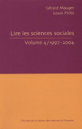 Lire les sciences sociales, Volume 4, 1997-2004