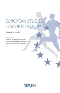 European Studies in Sports History, vol. 10/2017