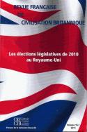 Revue française de civilisation britannique, vol. XVI(1)/2011