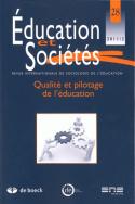 Education et Sociétés, n° 28/2011