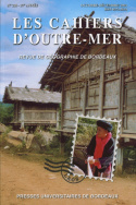 Les cahiers d'Outre-Mer, n°228/tome LVII