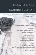 Questions de communication, n°32/2017