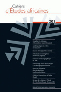 Cahiers d'études africaines, n° 205