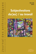 Journal des anthropologues n° 158-159/2019