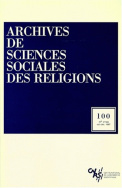 Archives de sciences sociales des religions, n° 100/oct.-déc. 1997