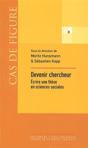 devenir chercheur   u00c9crire une th u00e8se en sciences sociales