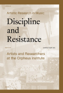 Artistic Research in Music: Discipline and Resistance