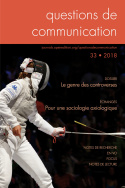 Questions de communication, n°33/2018