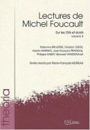 Lectures de Michel Foucault